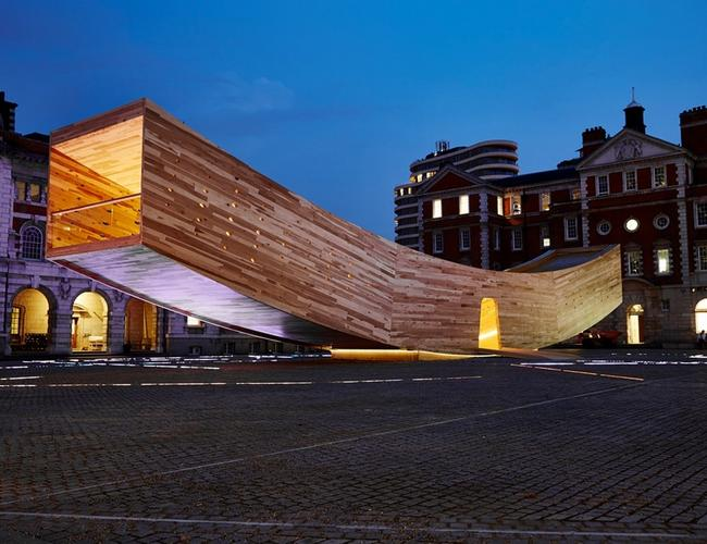 Współczesna Arka Noego? Uśmiech na festiwalu designu w Londynie